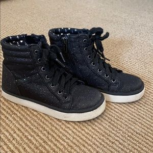 Sparkly High Tops